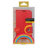 BASEUS Rainbow Case Samsung Galaxy S4 [LTSAI9500-RW09] - Red - Casing Handphone / Case